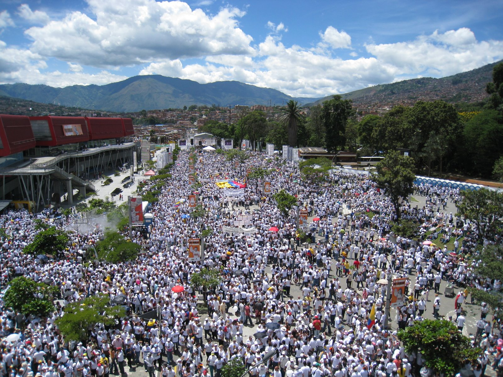 марш на свободата Меделин Колумбия