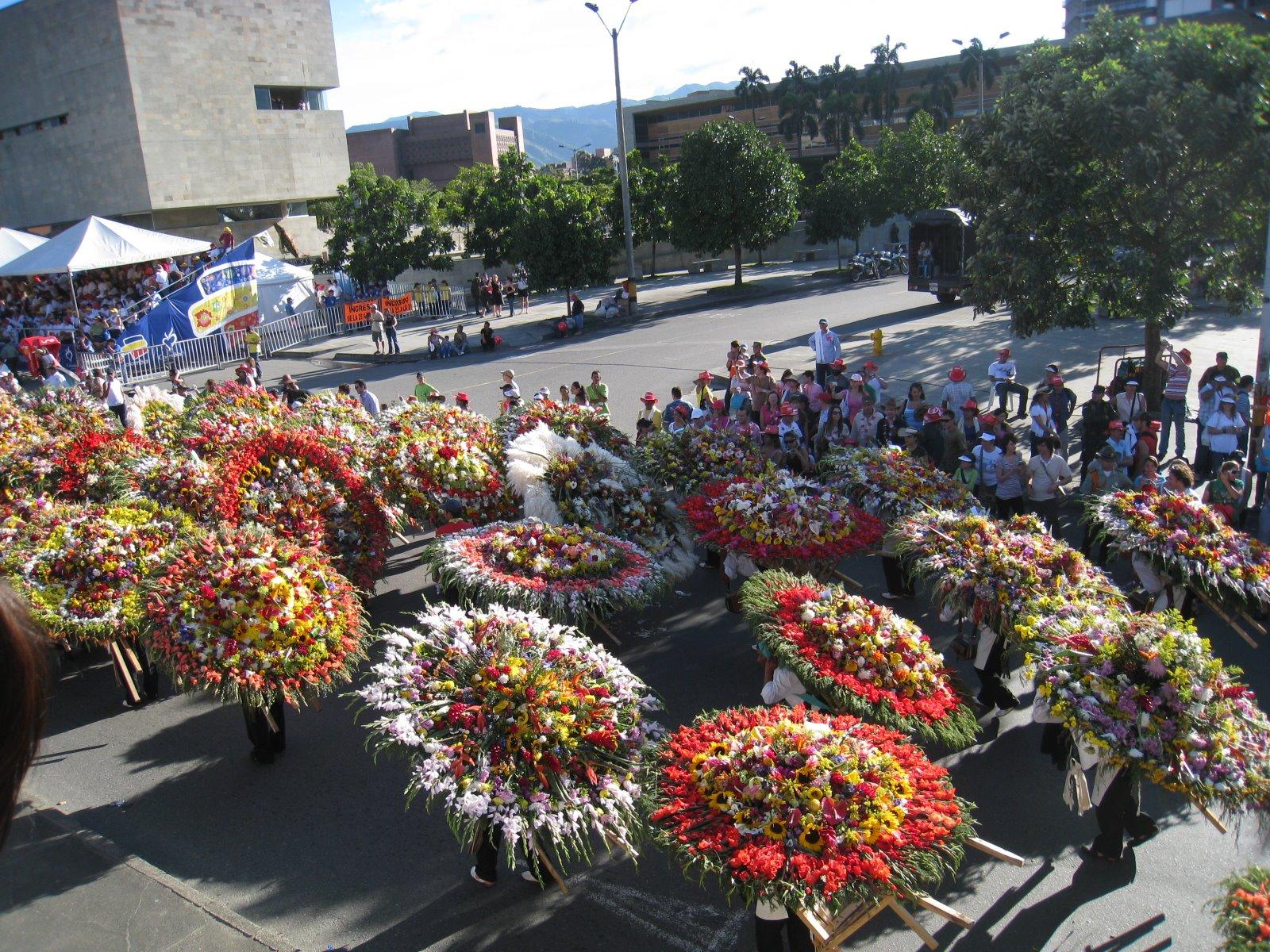 ферия на цветята меделин колумбия