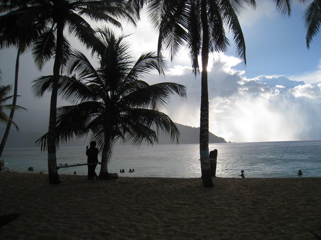 карибско море колумбия панама