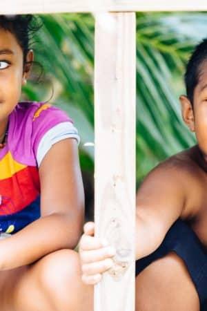децата в Пелелиу