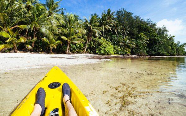 плаж в резервата Нджерумекаол, Палау