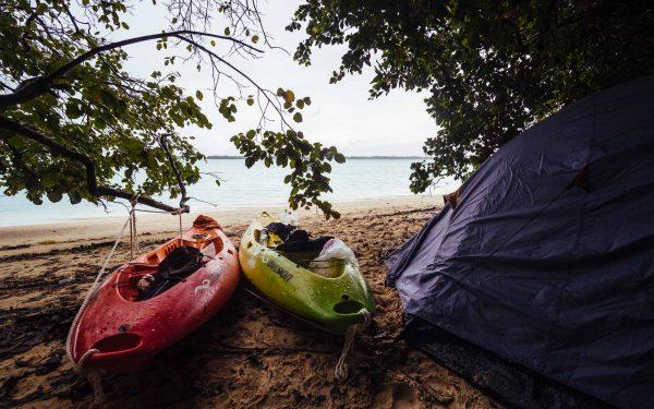 палатка на плажа